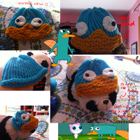 Perry the Platypus Hat by pinktwirlz