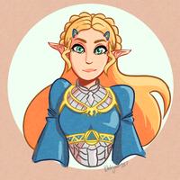 Botw Zelda is aSpiCY by BlackyandLosers