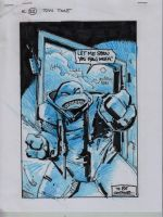 IDW TMNT One Page Twenty Two by Kevineastman