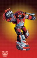 Classics Cliffjumper by Dan-the-artguy