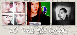 Icons: Tokio Hotel set6 by Mariesen
