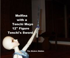 Melfina Tenchi Sword 1 by The-Modern-Maiden