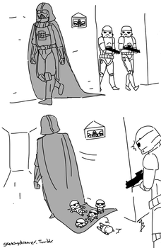 vader gets a longer cape by zetsumeininja