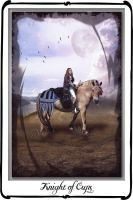 Tarot- knight of cups by azurylipfe