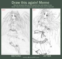 before and after meme by mielru