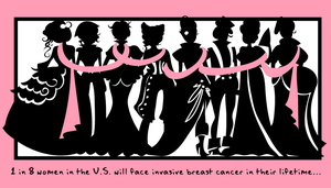 Breast Cancer: 1 in 8 by labrattish