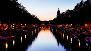 Amsterdam Sunset by RonimusPr1m3