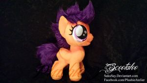 A chicken! D: Scooootaloo - Plushy by SakuSay