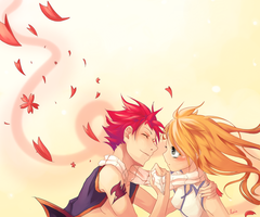 Natsu and Lucy :3 by Rejuvenesce