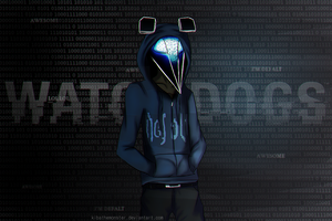I am Defalt, welcome to my party by KibatheMonster