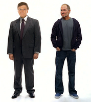 Bill Gates and Steve Jobs by salasrcp90