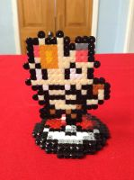 Pokemon: Meowth- Hama Design by Dogtorwho