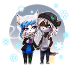 Comm: .:Tamy and Domino:. by Shide-Dy