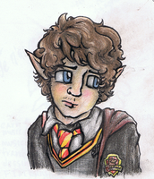 Myself harry potter style by iscaylis