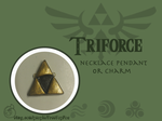 Triforce Pendant. by TreeTopFoxx