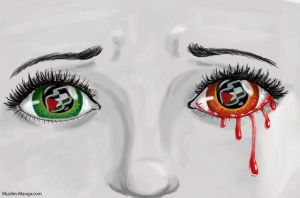 Tears of Gaza-2 by Birdynum-num