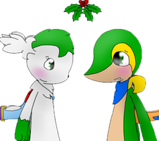 Under the Mistletoe by KurtisTheSnivy