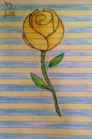 The Yellow Rose for the Wisconsin incident. by MarbleHornetsIsCool