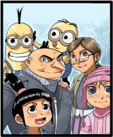 Despicable Me by feitian