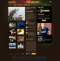 Colorful Video Themed Web Des by PsdThemes