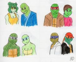 TMNT_Older Generation by DNLnamek01