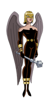 Hawkgirl - Justice Lords by SpiedyFan