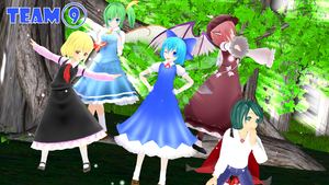 MMD :Forever 9: by GalaxyGuild