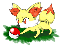 FENNEKIN by mini-sanada