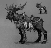 Mount Concept Art by Eepox