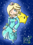 Rosalina and Luma by Katrins23