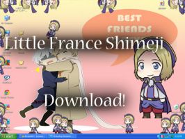 Little France Shimeji by HetaGarnet