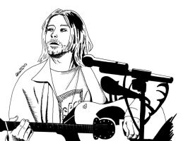 Giving Cobain a second chance by deanfenechanimations
