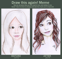 Draw This Again: 2010 - 2014 by BrittanyTheAwesome