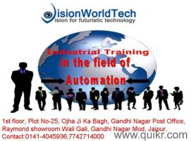 PLC SCADA training in Jaipur by VisionWorldTech