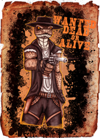 Wanted: Dead or alive by Ravenfire5