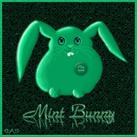 Mint Bunny by Tifa22