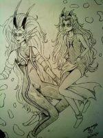 Feferi and the Empress by TriggerMavrik