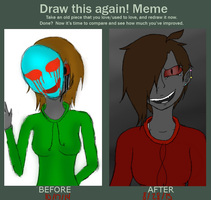 Draw This Again Meme: Jack by Eyeless-jack10