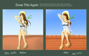 Draw this again contest - 2010~2012 by LapisLazuliLawliet