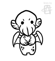 Free chibi lineart - 3 by griffsnuff