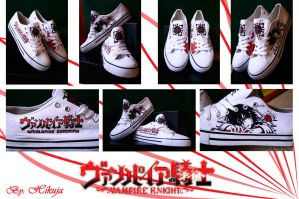 Vampire Knight shoes by Hikuja