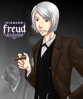 Sigmund Freud by yuliya