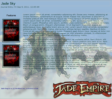 Jade Sky Journal Skin by InverseReality-2