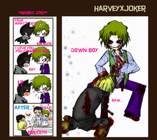 Joker down by pink-snow