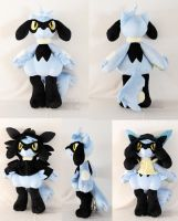 Runt the Riolu (Lifesize!) by MagnaStorm