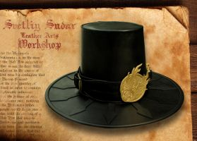 Witchhunter leather hat by Svetliy-Sudar
