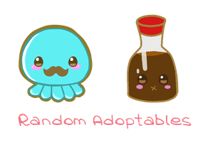 Adoptables? Set 1 by ChocomintMacaron
