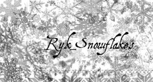 Ryk_Snowflakes brushes by Rykan