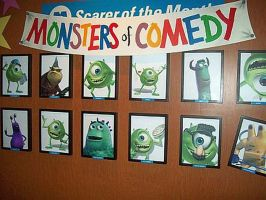 Monsters of Comedy by blunose2772