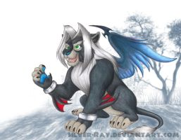Lionine-FF-cast: Sephiroth by Silver-Ray